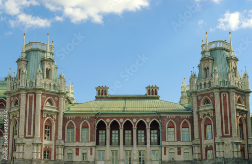 Palace architecture in the Tsaritsyno