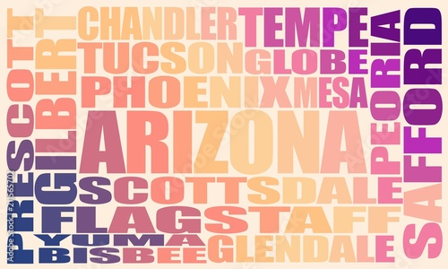 Image relative to usa travel. Arizona state cities list