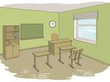 Classroom graphic color interior sketch illustration vector - 211567926