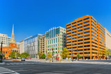 Washington, USA, urban cityscape of the city. Downtown district. - 211570541