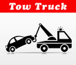 tow truck vector icon design - 211578779
