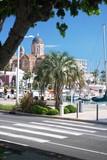 Port et plage de Fréjus (Côte d'Azur-France)