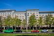 Leinwanddruck Bild - Berlin, Stalinbauten