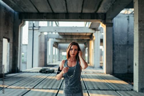 Earphones are her favourite part of the equipment © bernardbodo