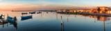Sardegna, laguna di Marceddì al tramonto, Italy  - 211623165