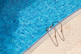 Swimming pool side background photo - 211627958