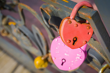 Wedding locks macro © AnnaPa