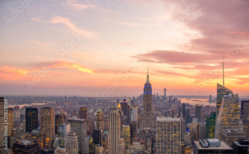 Vue de New-York