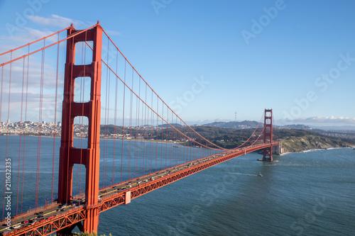 Fototapeta Pont du Golden Gate à San Francisco