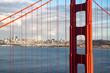Golden Gate vue d'en haut