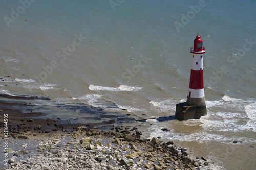 Fotobehang Vuurtoren Beachy Head Lighthouse, East Sussex, England