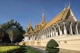 CAMBODIA PHNOM PENH ROYAL PALACE THRONE HALL