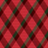 Decorative diagonal tartan inspired vector seamless pattern background 1 - 211666545