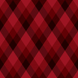 Diagonal black and red tartan vector seamless pattern background 1 - 211666729