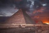 pyramids of Giza, in Egypt. - 211668792