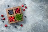 Fresh summer berries box