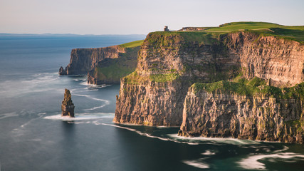 Cliffs of Moher, West Ireland, Atlantic coast, Ring of Kerry route © Agota