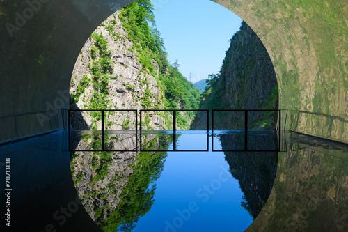 日本三大渓谷の清津峡