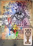 Alchimia - Collage e disegni esoterici, bizzarri e misteriosi