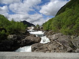 mountain waterfall...Hemsedal...Norway