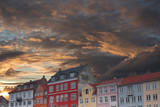 Nyhavn is the old harbor of Copenhagen - 211726926