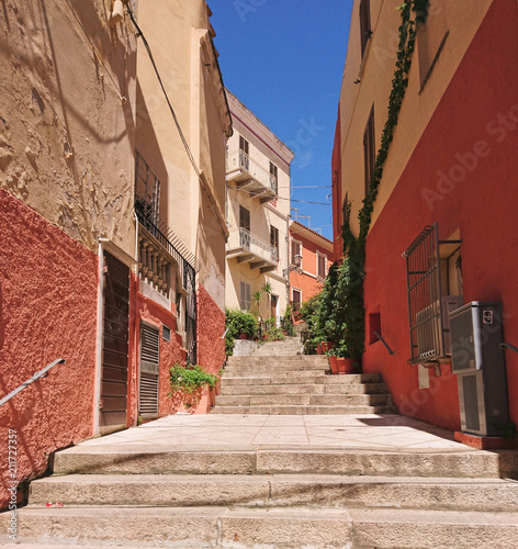 Fototapeta narrow street
