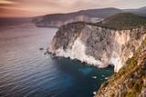 Cape Keri landscape at sunset, Greece - 211728791