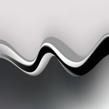 Abstract wave. Vector Illustration for banner, flyer, book cover, poster.