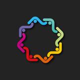 logo abstrait - 211740793