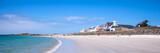 Cobo beach panoramic landscape, Guernsey - 211753326