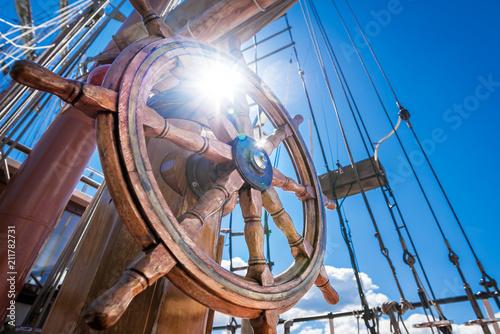 Foto Murales steering wheel