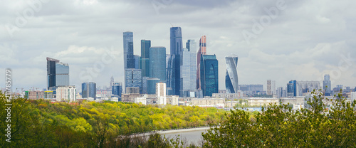 Moscow city skyline, Russia