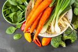 Assortment of fresh vegetables - 211786964