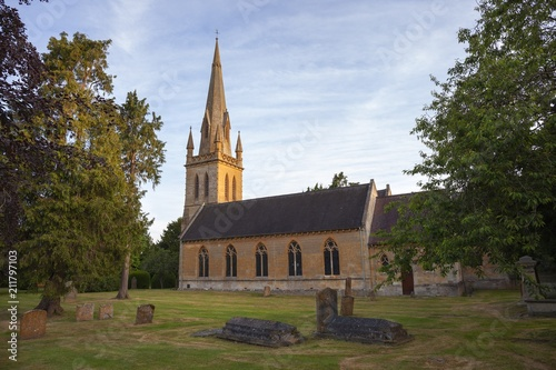 Moreton in Marsh Church, Cotswolds, Gloucestershire, England - 211797103