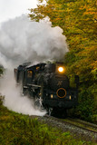 steam locomotive Fukushima Japan - 211798983