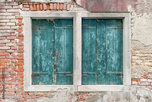 Venice window shutters