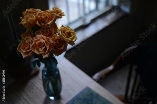 Bouquest of orange roses