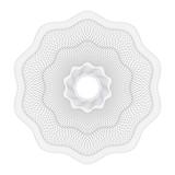 Watermark, guilloche design for background certificate,diploma, - 211812519