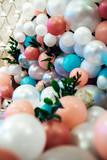 Wedding decor with large beads - 211819302