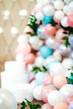 Wedding decor with large beads - 211819385