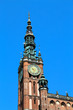 Das Rechtsstädtische Rathaus in Danzig