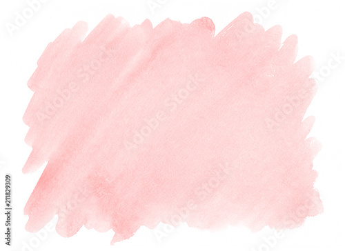 Różowy akwareli tło z wyraźną teksturą papier dla dekorować projektów produkty i druk.