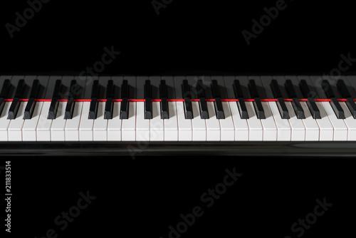 Fototapeta Piano Instrument Keys