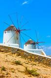 Windmills in Mykonos - 211839793