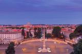 Rome. Piazza del Popolo.
