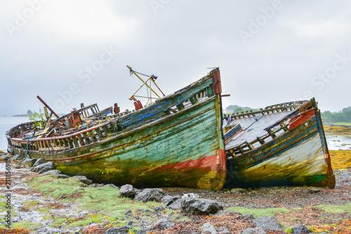 Aluminium Schipbreuk Scottish wreck