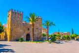 Porta del moll leading to the old town of Alcudia, Mallorca, Spain - 211860330