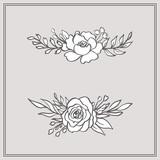 Doodle Floral Bouquets  - 211873998