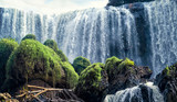 The elephant waterfall Dalat Vietnam