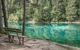 Grüner See Steiermark Hochschwabgebiet Naturjuwel Idylle Bergsee Österreich Natur Wasser Ausflug - 211881545